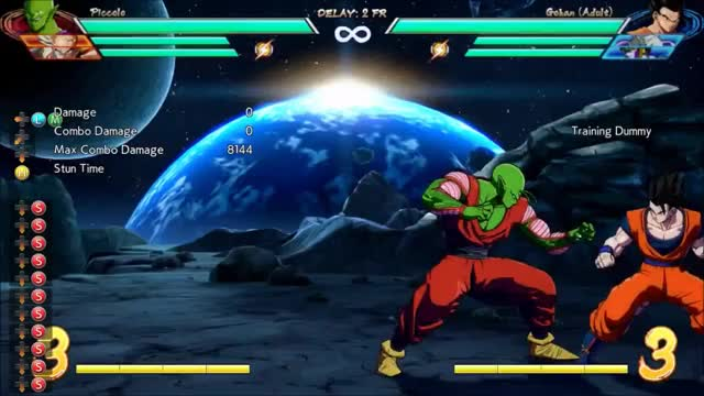 Watch DBFZ Piccolo - Corner 2M 5M 2bar combo (6422 dmg) GIF by @amex_svk on Gfycat. Discover more related GIFs on Gfycat