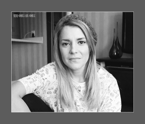 dearme, grace helbig, gracehelbig, it's grace, itsgrace, mygifs, who made you smile like that?, youtube,