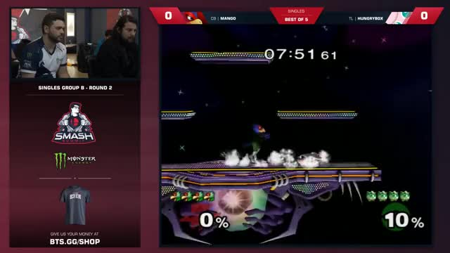Mang0 vs Hungrybox - Melee Singles: Pool B - Smash Summit 6