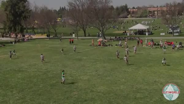Watch [Ultimate] Oregon's Hayley Wahlroos with a huge inside-out backhand (reddit) GIF on Gfycat. Discover more highlightgifs GIFs on Gfycat