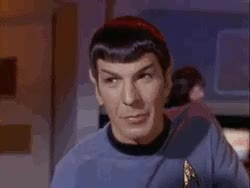 Watch and share Spock Illogical GIFs on Gfycat