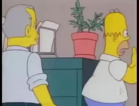 I Simpson - Scuotere le gabbie