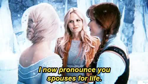 Watch kengha GIF on Gfycat. Discover more 4x11, Anna, Anna of Arendelle, Elsa, Elsa of Arendelle, Elsanna, Emma, Emma Swan, Gif, OTP, OUAT, Once Upon a Time, Princess Anna, Queen Elsa, Season 4, Shatter Sight, Wedding GIFs on Gfycat