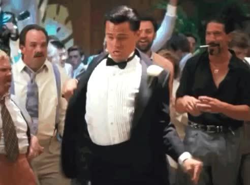 celebrate, dance, di, Leo celebrate dance GIFs