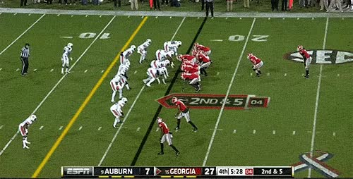 Watch and share Todd-Gurley-suffers-left-knee-injury-against-Auburn-a GIFs on Gfycat