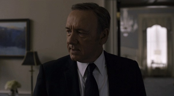 Houseofcards, Kevin Spacey, destroy, frankunderwood, Must I destroy this man? GIFs