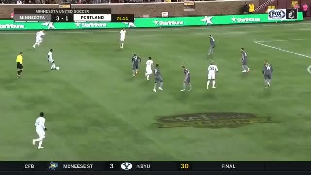 Watch and share Blanco Goal Portland V Minnesota 22sep2018 GIFs by C.I. DeMann on Gfycat