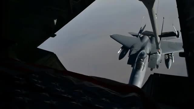Watch Aerial Refueling GIF on Gfycat. Discover more Military Aircraft, Military Exercise, Military Film, Military Operation, United States Air Force, United States Armed Forces, armed forces, military, military training, military video GIFs on Gfycat