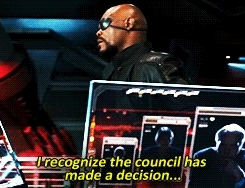 avengers, facebook messenger, nick fury, samuel l jackson, When you're trying to promote your plans in the group chat b GIFs