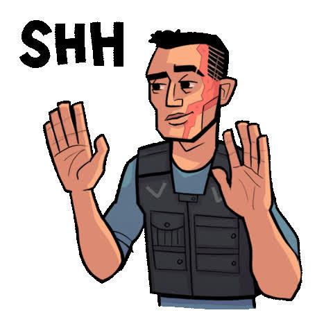 daniel dae kim, dark horse, dark horse comics, david harbour, hellboy, hellboy 2019, hellboy movie, milla jovovich, shh, shhh, superhero, superheroes, Hellboy Shhh GIFs