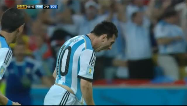 Watch Match Thread: Argentina vs Bosnia and Herzegovina, 2014 World Cup, Group F (reddit) GIF on Gfycat. Discover more soccer GIFs on Gfycat