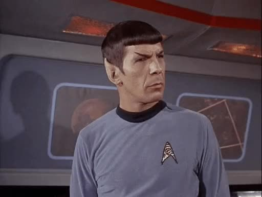 Watch MRW people comment they hate Star Trek... in a Star Trek sub GIF by Star Trek gifs (@star-trek-gifs) on Gfycat. Discover more Leonard Nimoy, Spock, Star Trek, TOS, The Original Series GIFs on Gfycat