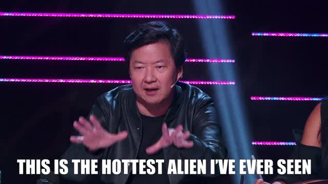 Watch this masked singer GIF by The Masked Singer on FOX (@maskedsinger) on Gfycat. Discover more alien, feels, hot, ken jeong, masked singer, nailed it, the masked singer, the masked singer on fox GIFs on Gfycat
