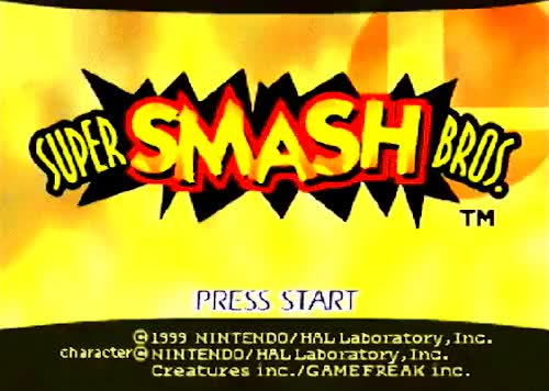Watch and share Super Smash Bros GIFs and Title Screen GIFs on Gfycat