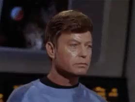 Watch and share Deforest Kelley GIFs and William Shatner GIFs on Gfycat