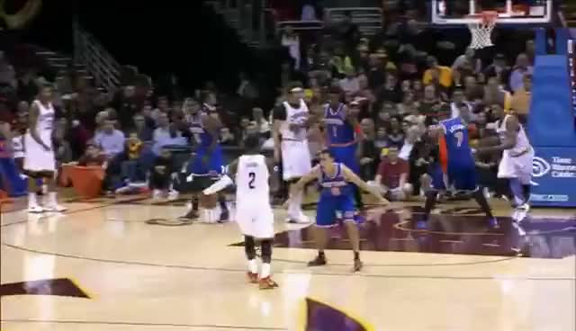 Watch Kyrie Irving Crossover GIF GIF on Gfycat. Discover more cleveland cavaliers, crossover, kyrie irving, nba, new york knicks, pablo prigioni GIFs on Gfycat