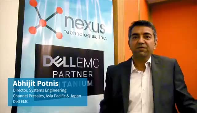 Abhijit Potnis Dell EMC Systems Engineering Director on what's new with Dell EMC GIFs