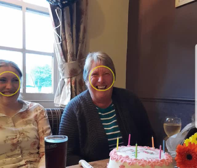 My Workaholic Mother Hammered And Happy On Her 70th Birthday GIF