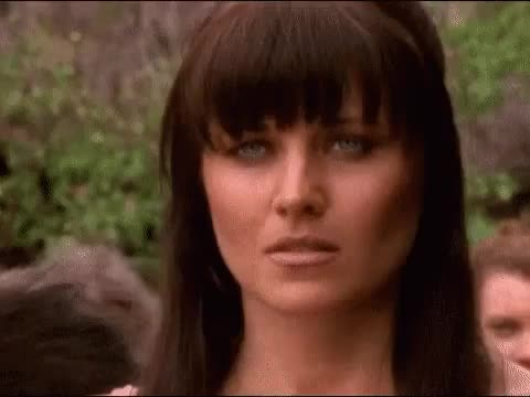 Watch and share Lucy Lawless GIFs and Celebrity GIFs on Gfycat