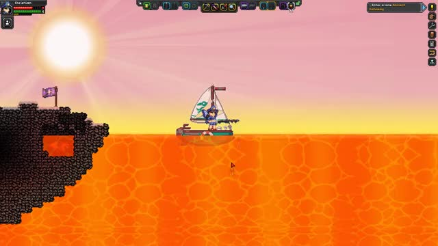 Watch Starbound Fishing GIF by @cheeseywiz98 on Gfycat. Discover more Fishing, Lava, Starbound GIFs on Gfycat
