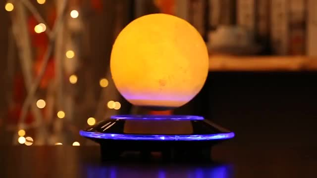 Watch and share Floating Moon Lamp Magnetic Levitation GIFs by Muhammad Irfan Bashir on Gfycat