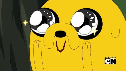 Watch and share Jake, Jake The Dog, Adventure Time, Reaction, Amazed GIFs on Gfycat