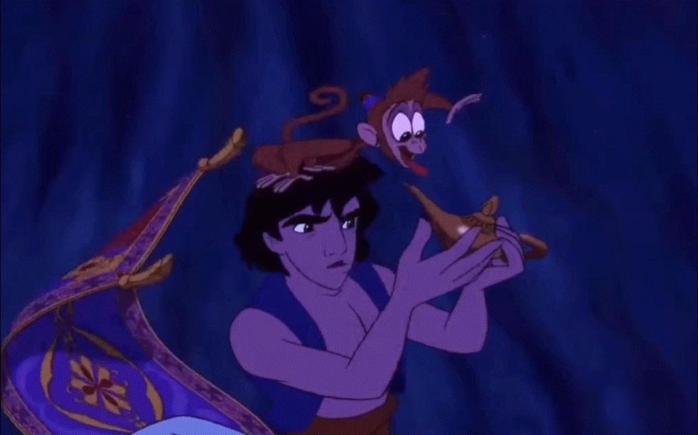 gifextra, rickandmorty, Aladdin Meets Genie [gifextra] GIFs