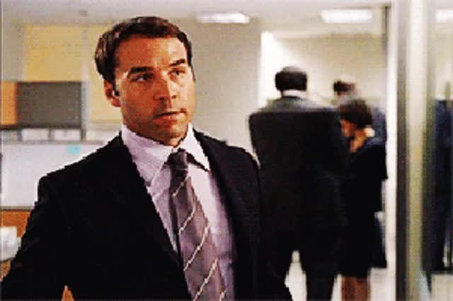 Watch and share Jeremy Piven GIFs on Gfycat