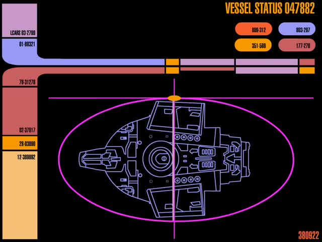 Watch Vessel Status GIF by Star Trek gifs (@star-trek-gifs) on Gfycat. Discover more LCARS, Star Trek, Star Trek Computer GIFs on Gfycat