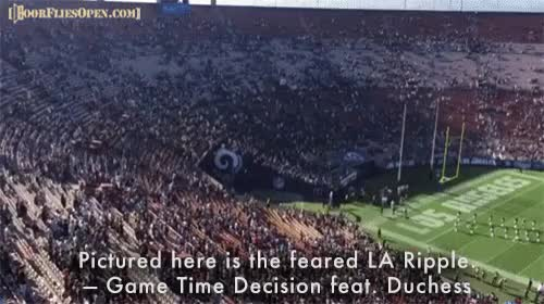 Watch and share Los Angeles Rams GIFs and Door Flies Open GIFs by Unsurprised on Gfycat