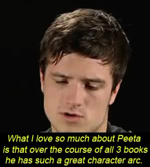 Watch and share Josh Hutcherson GIFs and Catching Fire GIFs on Gfycat