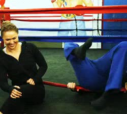 Watch and share Ronda Rousey GIFs and Pete Holmes GIFs on Gfycat
