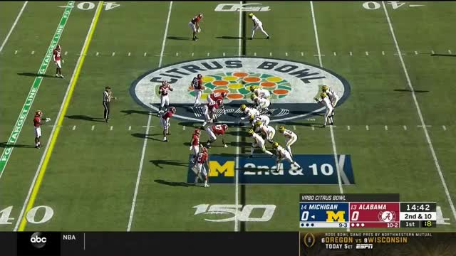 Watch and share Neck Sharpies - Spacing Alabama - 01 End Around GIFs by Seth Fisher on Gfycat
