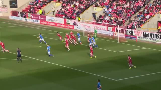 Watch Brian Easton with a stunning looping volley for St Johnstone v Aberdeen (reddit) GIF on Gfycat. Discover more scottishfootball, soccer GIFs on Gfycat