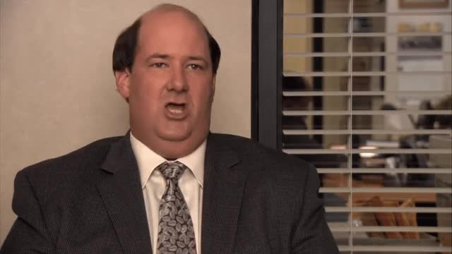 Watch Why waste time say lot word.gif GIF on Gfycat. Discover more brian baumgartner GIFs on Gfycat