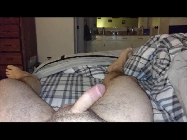 getting ready for a wank this morning