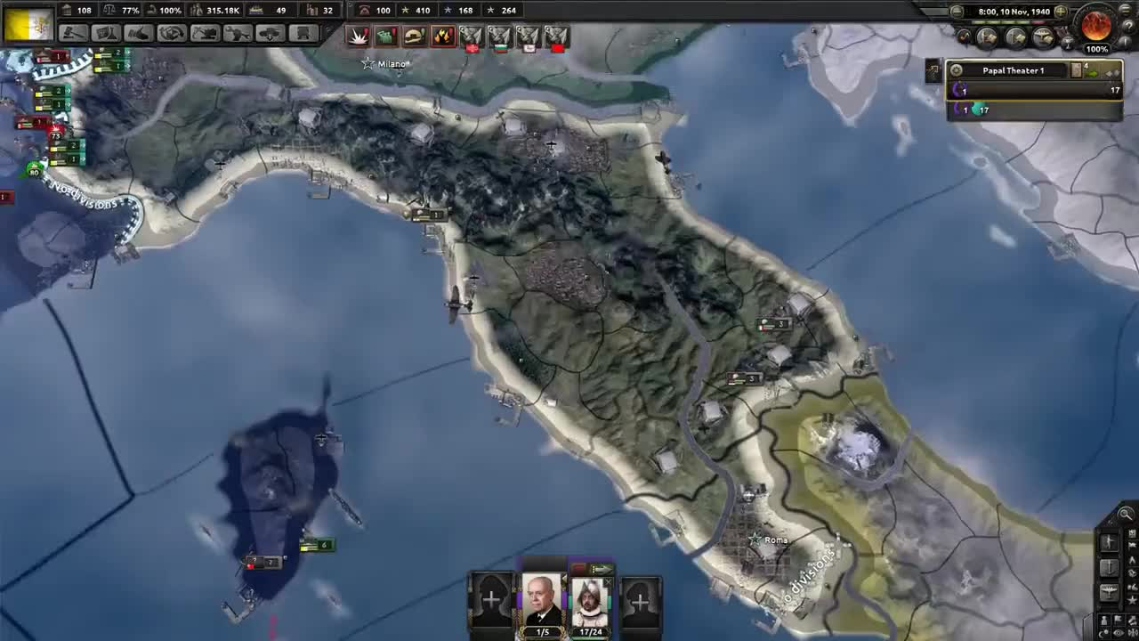 Italy, Kaiser, Vatican, four, funny, guide, hoi4, kaiserreich, meme, memes, mod, modding, playthrough, pope, walkthrough, HAMMER OF GOD GIFs