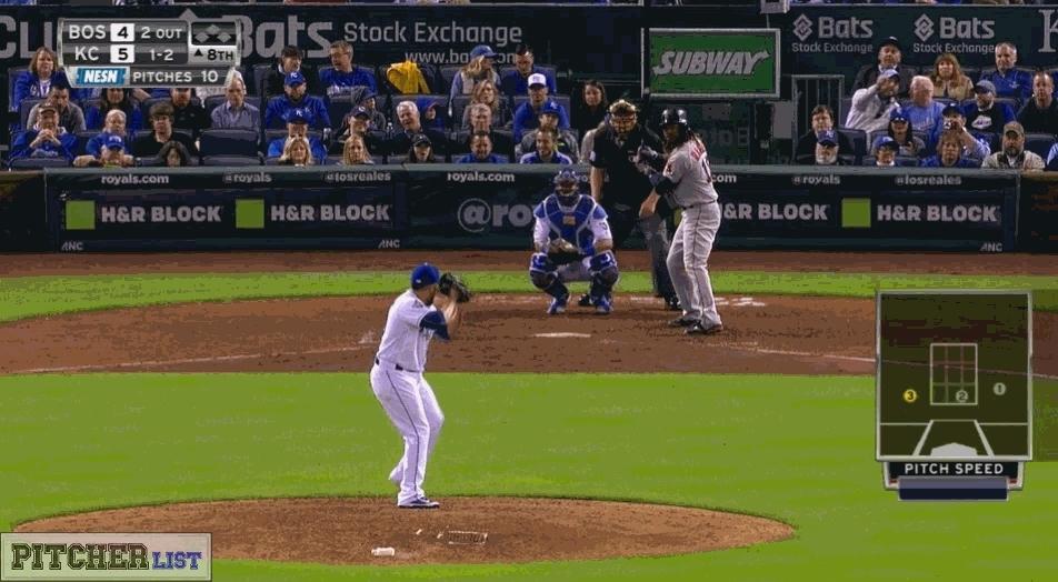 baseball, kcroyals, Herrera's slider to Hanley (reddit) GIFs