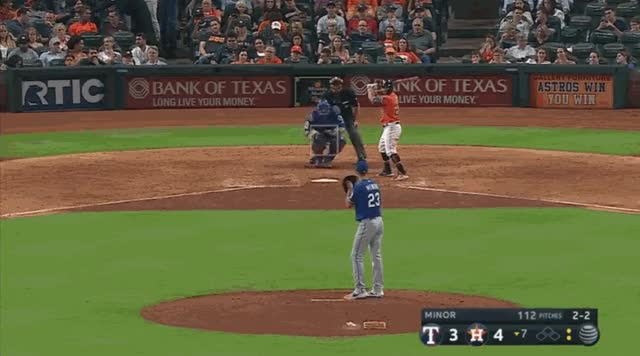 Watch and share Houston Astros GIFs and Baseball GIFs by natewattpl on Gfycat