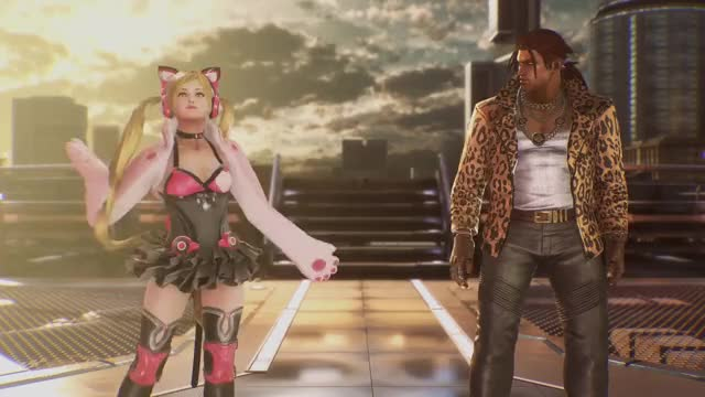 Watch and share Lucky Chloe GIFs and Tekken 7 GIFs on Gfycat