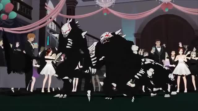 Watch and share RWBY: JNPR Dance Team Alternate Takes GIFs by dapperdelta on Gfycat
