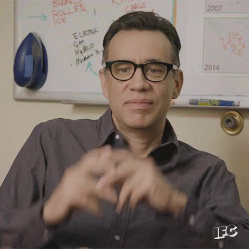 Watch and share Fred Armisen GIFs on Gfycat