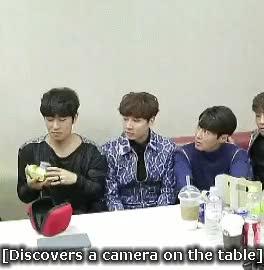 Watch camera nerd kim dongwan GIF on Gfycat. Discover more andy lee, boys >_> LOL, gif, junjin, kim dongwan, shinhwa, wandy GIFs on Gfycat