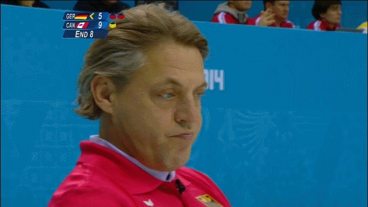 olympics, John Jahr of Germany gives a wink to the camera. (reddit) GIFs