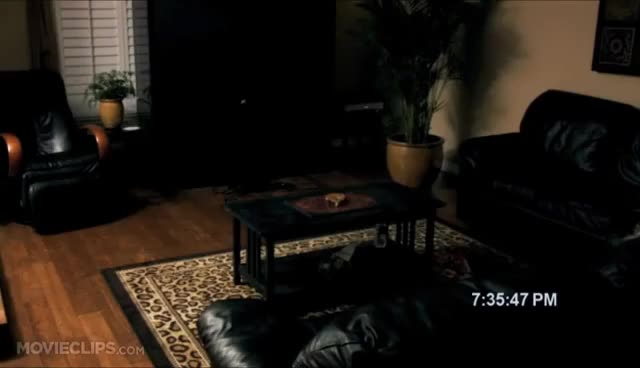 Watch Paranormal Activity (1/9) Movie CLIP - Ouija Board on Fire (2007) HD GIF on Gfycat. Discover more related GIFs on Gfycat