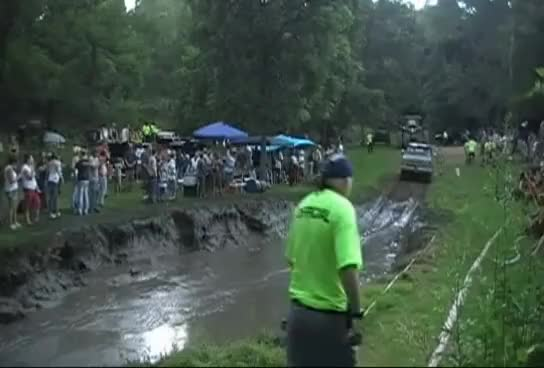 Watch and share Girls Get Pushed In The Mud Pit.. GIFs on Gfycat