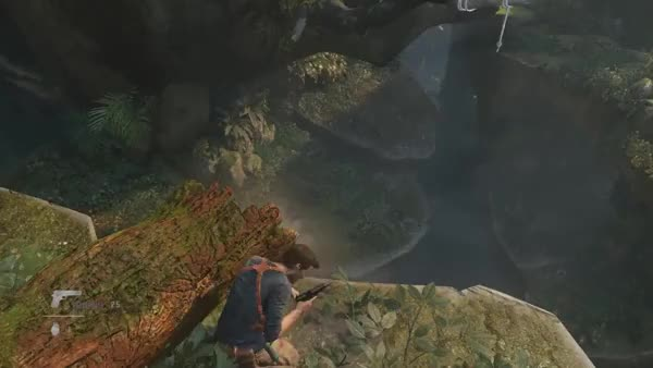 Watch Nathan Drake Epic Swing GIF on Gfycat. Discover more gaming GIFs on Gfycat