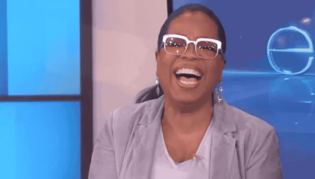 Watch this haha GIF by GIF Queen (@ioanna) on Gfycat. Discover more degeneres, ellen, funny, ha, haha, he, hehe, hilarious, humor, joke, joking, laugh, lol, loud, no way, oprah, oprah winfrey, out, show, winfrey GIFs on Gfycat