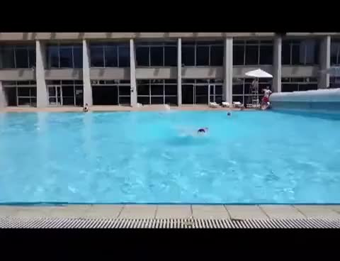 Watch and share Swimming Pool GIFs on Gfycat