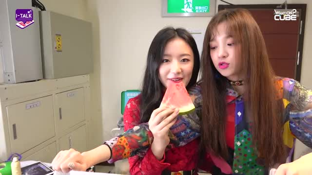 Watch (여자)아이들((G)I-DLE) - I-TALK #11 : 'MCOUNTDOWN in TAIPEI' 비하인드 GIF by Nu (@1nu1nu1) on Gfycat. Discover more (G)I-DLE, (여자)아이들, I-TALK, kpop, 미연, 민니, 비하인드, 소연, 수진, 우기 GIFs on Gfycat
